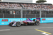 2,  Sam Bird (GBR) - DS Virgin Racing, DS-Virgin DSV-02, race winner in Rome. <br /> ROME, ITALY, 14. April 2018, Formula E, ROME, ROMA, ROM, Formula Electric, the Formula Electric Race in the streets of Rome -  fee liable image - Photo Credit: &copy; ATP / Arthur THILL / www.photosport.nz