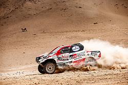 January 10, 2019 - Arequipa, Peru - AREQUIPA, PU - 10.01.2019: DAKAR 20189 - Al-Attiyah Nasser (CAT) during the Dakar Rally 2019, on Wednesday (10), in Arequipa, Peru. (Credit Image: © Marcelo Machado De Melo/Fotoarena via ZUMA Press)