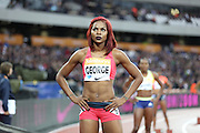 Regina George of Nigeria during the Sainsbury's Anniversary Games at the Queen Elizabeth II Olympic Park, London, United Kingdom on 24 July 2015. Photo by Phil Duncan.