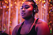 Kween Kay$h playing Girl Fest 2019 at Holocene in Portland, OR. Photo by Jason Quigley
