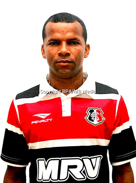 Brazilian Football League Serie B 2017 / <br /> ( Santa Cruz Futebol Clube ) - <br /> Cicero Vitor dos Santos Junior