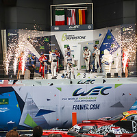 Podium GTE Pro at FIA WEC 6 Hours of Silverstone 2017, Silverstone International Circuit, on 16.04.2017
