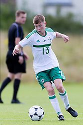 WREXHAM, WALES - Thursday, August 15, 2019: <br /> Northern Ireland's Cormac Austin during the UEFA Under-15's Development Tournament match between Wales and Northern Ireland at Colliers Park. (Pic by Paul Greenwood/Propaganda)