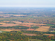 Aerial view of Columbia County, Wisconsin.