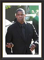 Denzel Washington at Nelson Mandelas Birthday Party Hyde Park London A2 Museum-quality Archival signed Framed Print (Limited Edition of 25)