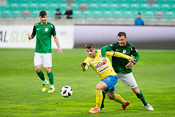 During football match between NK Olimpija Ljubljana and NK Celje in 1st leg match in Semifinal of Slovenian cup 2017/2018, on April 4, 2018 in SRC Stozice, Ljubljana, Slovenia. Photo by Urban Urbanc / Sportida