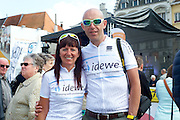 Mechelen. 1000 km KOTK. Reactie 3: Veronique en Bruno (team Idewe)