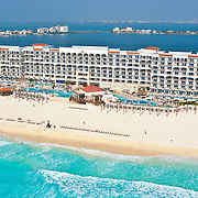 Aerial View of the Royal Hotel by Real Resorts.<br />