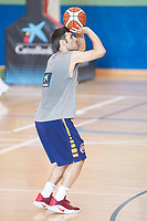 Fernando San Emeterio during the Spain training session before EuroBasket 2017 in Madrid. August 02, 2017. (ALTERPHOTOS/Borja B.Hojas)