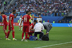June 17, 2017 - Saint Petersburg, Russia - Of The Russian Federation. Saint-Petersburg. Arena Saint-Petersburg. Confederations Cup 2017 in Russia. Football the opening match of the Confederations Cup Russia - New Zealand. FIFA. (Credit Image: © Russian Look via ZUMA Wire)