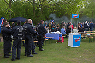 AfD & counter-protest, Berlin 01.05.17