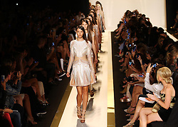 Herve Leger show  at New York Fashion Week for Spring/ Summer 2013 , Saturday, 8th September 2012. Photo by: Stephen Lock / i-Images