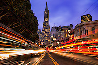 Transamerica Pyramid @ Twilight, San Francisco