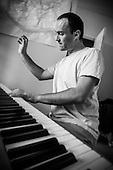 Fred au piano