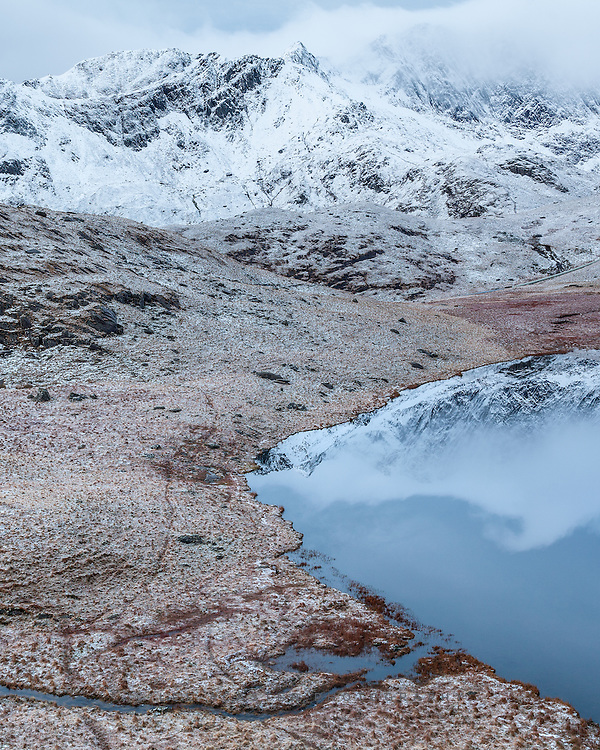 Not the most dramatic or hard earned shot of the weekend in Snowdonia, as this was taken from one of the paths up Snowden, but the pre-dawn light was sublime.