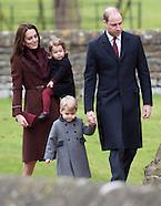 Prince George & Princess Charlotte 1st Xmas Service 3