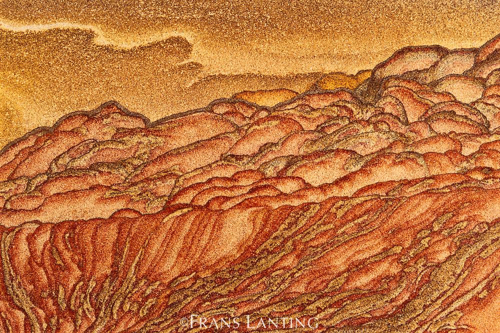 Sandstone pattern, Utah