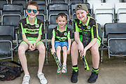 Young FGR fans awaiting the start of the match during the EFL Sky Bet League 2 match between Forest Green Rovers and Grimsby Town FC at the New Lawn, Forest Green, United Kingdom on 5 May 2018. Picture by Shane Healey.