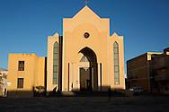 Lampedusa, Italia - La parrocchia di San Gelrando a Lampedusa.<br /> Ph. Roberto Salomone