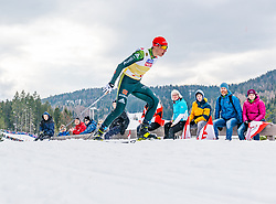 02.03.2019, Seefeld, AUT, FIS Weltmeisterschaften Ski Nordisch, Seefeld 2019, Nordische Kombination, Langlauf, Team Bewerb 4x5 km, im Bild Eric Frenzel (GER) // Eric Frenzel of Germany during the Cross Country Team competition 4x5 km of Nordic Combined for the FIS Nordic Ski World Championships 2019. Seefeld, Austria on 2019/03/02. EXPA Pictures © 2019, PhotoCredit: EXPA/ Stefan Adelsberger