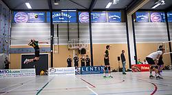 14-01-2017 NED: PDK Huizen - Inter Rijswijk, Huizen<br /> Prima Donna Kaas verliest met 3-2 van Rijswijk / Prima Donna Arena, Wilco van Wijk #5