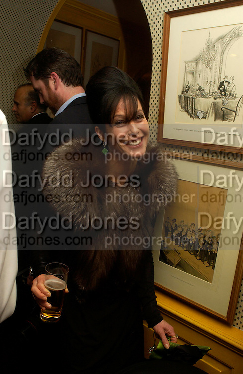 Lady Harlech. Artists Independent Networks  Pre-BAFTA Party at Annabel's co hosted by Charles Finch and Chanel. Berkeley Sq. London. 11 February 2005. . ONE TIME USE ONLY - DO NOT ARCHIVE  © Copyright Photograph by Dafydd Jones 66 Stockwell Park Rd. London SW9 0DA Tel 020 7733 0108 www.dafjones.com