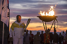 2018 Winter Olympics torch relay in Thessaloniki - 27 Oct 2017