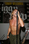 NEW YORK - NOVEMBER 3:  Virgin records artist Iggy Pop And The Stooges perform at Tower Records November 3, 2003 in New York City.  (Photo by Matthew Peyton)