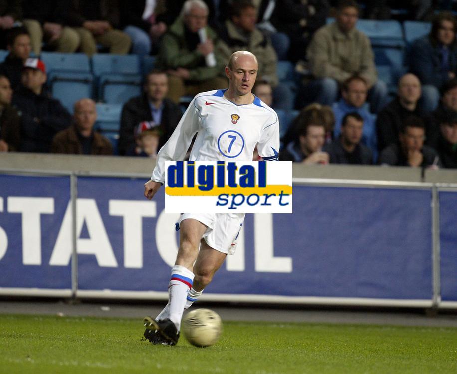 Fotball, 28. april 2004, Privatlandskamp, Norge-Russland 3-2, Victor Onopko, Russland
