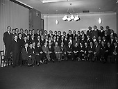 1962 - St. Brendan's College, Killarney Union Dublin Branch- Social Evening