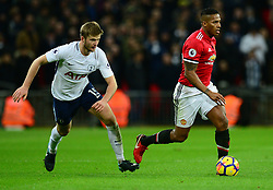 Luis Antonio Valencia of Manchester United - Mandatory by-line: Alex James/JMP - 31/01/2018 - FOOTBALL - Wembley Stadium - London, England - Tottenham Hotspur v Manchester United - Premier League