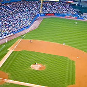 Yankee Stadium, the Bronx, New York City. New York Yankees playing the Baltimore Orioles.
