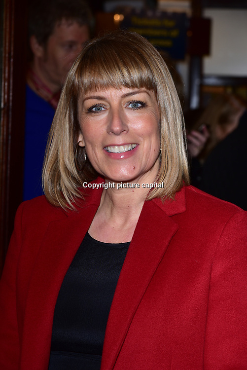 London, England, UK. 23 January 2018. Fay Ripley Arrivers at Beginning - press night at Ambassadors Theatre.