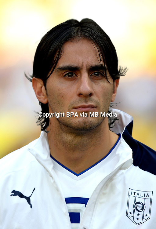 Football Fifa Brazil 2014 World Cup / <br /> Italy National Team - <br /> Alberto Aquilani of Italy