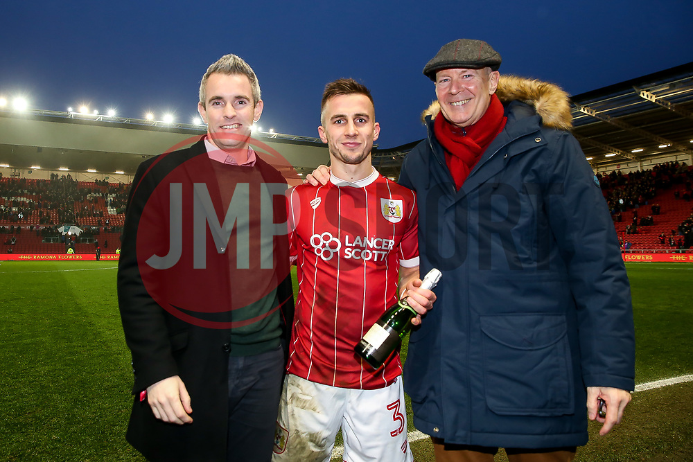 Man of the Match Joe Bryan of Bristol City - Rogan/JMP - 27/01/2018 - Ashton Gate Stadium - Bristol, England - Bristol City v Queens Park Rangers - Sky Bet Championship.