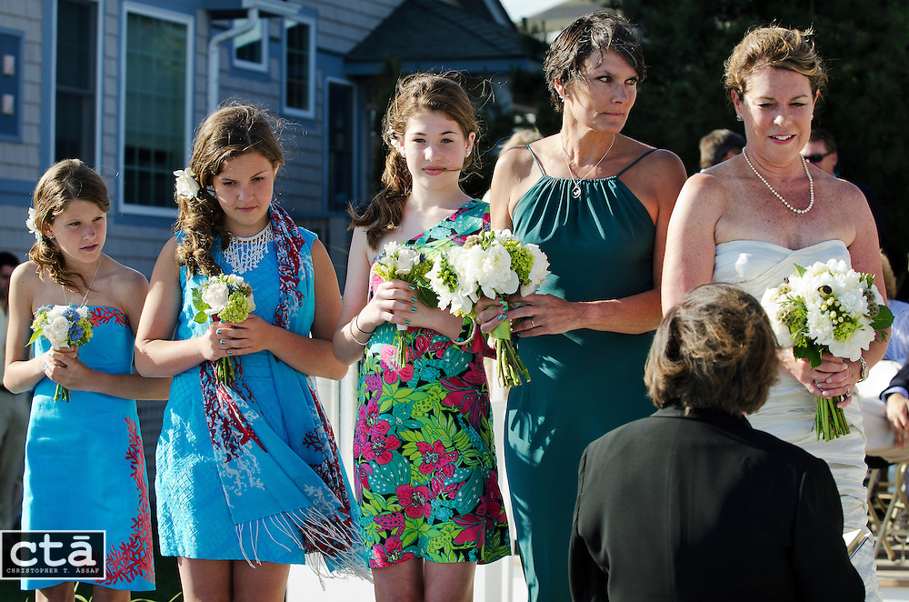 The wedding of Karen Cubbison and Craig Socie. Married June 2, 2012 in Stone Harbor, N.J. (Photo by Christopher T. Assaf/all rights reserved) #2279..©2012