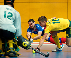 LEIZPIG - WC HOCKEY INDOOR 2015<br /> Foto: CZE v AUS (Pool A)<br /> VACEK David and OGILVIE Heath<br /> FFU PRESS AGENCY COPYRIGHT FRANK UIJLENBROEK