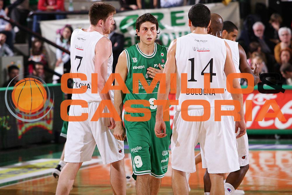 DESCRIZIONE : Treviso Lega A1 2005-06 Benetton Treviso VidiVici Virtus Bologna <br /> GIOCATORE : Mordente <br /> SQUADRA : Benetton Treviso <br /> EVENTO : Campionato Lega A1 2005-2006 <br /> GARA : Benetton Treviso VidiVici Virtus Bologna <br /> DATA : 20/04/2006 <br /> CATEGORIA : Ritratto <br /> SPORT : Pallacanestro <br /> AUTORE : Agenzia Ciamillo-Castoria/S.Silvestri