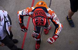 November 20, 2018 - Valencia, Spain - Marc Marquez (93) of Spain and Repsol Honda Team during the tests of the new MotoGP season 2019 at Ricardo Tormo Circuit in Valencia, Spain on 20th Nov 2018  (Credit Image: © Jose Breton/NurPhoto via ZUMA Press)