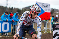 Ian Field (GBR), Men Elite, Cyclo-cross World Championship Tabor, Czech Republic, 1 February 2015, Photo by Pim Nijland / PelotonPhotos.com