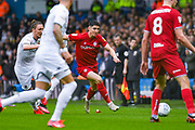 Bristol City midfielder Callum O'Dowda (11) in action during the EFL Sky Bet Championship match between Leeds United and Bristol City at Elland Road, Leeds, England on 15 February 2020.