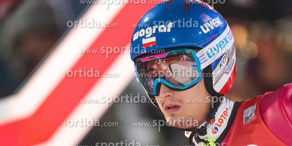 06.01.2016, Paul Ausserleitner Schanze, Bischofshofen, AUT, FIS Weltcup Ski Sprung, Vierschanzentournee, Bischofshofen, Finale, im Bild Maciej Kot (POL) // Maciej Kot of Poland reacts after his 1st round jump of the Four Hills Tournament of FIS Ski Jumping World Cup at the Paul Ausserleitner Schanze in Bischofshofen, Austria on 2016/01/06. EXPA Pictures © 2016, PhotoCredit: EXPA/ JFK
