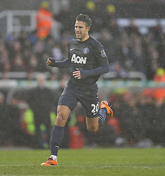 Manchester United's Robin van Persie - Photo mandatory by-line: Alex James/JMP - Tel: Mobile: 07966 386802 01/02/2014 - SPORT - FOOTBALL - Britannia Stadium - Stoke-On-Trent - Stoke v Manchester United - Barclays Premier League