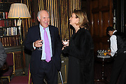 MICHAEL COCKERELL; CAROLINE MICHEL, Celebration of the  200TH Anniversary of the  Birth of Rt.Hon. John Bright MP  and the publication of <br /> ÔJohn Bright: Statesman, Orator, AgitatorÕ by Bill Cash MP. Reform Club. London. 14 November 2011. <br /> <br />  , -DO NOT ARCHIVE-© Copyright Photograph by Dafydd Jones. 248 Clapham Rd. London SW9 0PZ. Tel 0207 820 0771. www.dafjones.com.<br /> MICHAEL COCKERELL; CAROLINE MICHEL, Celebration of the  200TH Anniversary of the  Birth of Rt.Hon. John Bright MP  and the publication of <br /> 'John Bright: Statesman, Orator, Agitator' by Bill Cash MP. Reform Club. London. 14 November 2011. <br /> <br />  , -DO NOT ARCHIVE-© Copyright Photograph by Dafydd Jones. 248 Clapham Rd. London SW9 0PZ. Tel 0207 820 0771. www.dafjones.com.