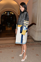 CHARLOTTE STOCKDALE at a private view of photographs by David Bailey entitled 'Bailey's Stardust' at the National Portrait Gallery, St.Martin's Place, London on 3rd February 2014.
