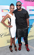 "Los Angeles, CA-June 29: (L-R) Recording Artist Tiara Thomas and Producer Rico Love attend the Seventh Annual "" Pre "" Dinner celebrating BET Awards hosted by BET Network/CEO Debra L. Lee held at Miulk Studios on June 29, 2013 in Los Angeles, CA. © Terrence Jennings"