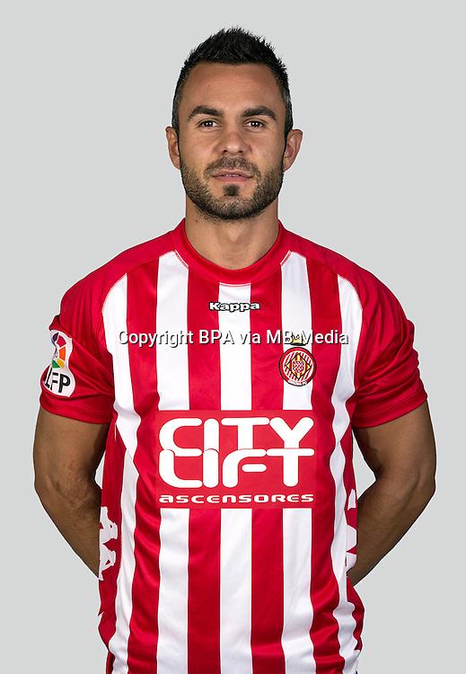Spain - La Liga Adelante 2015-2016 / <br /> ( Girona F.C. ) - <br /> Eloi Amagat Aridany