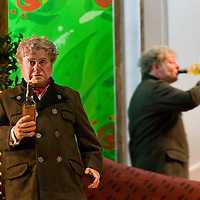 Picture shows :  Nicholas Folwell as Mumlal (left) with his stage reflection (right)...Picture  ©  Drew Farrell Tel : 07721 ?735041.THE TWO WIDOWS by  Smetana.A SCOTTISH OPERA AND EDINBURGH INTERNATIONAL FESTIVAL CO-PRODUCTION.Premiering at the Edinburgh International Festival, this brand new production stars Scottish soprano Kate Valentine and internationally renowned mezzo Jane Irwin..The directorial partnership between Tobias Hoheisel and Imogen Kogge transforms this delicate comedy into something that digs deeper without losing its inherent charm. Francesco Corti conducts this, his first production as Music Director of Scottish Opera...Kate Valentine as Karolina Záleská.Jane Irwin as Ane?ka Miletinská?Nicholas Folwell as Mumlal?David Pomeroy as Ladislav Podhajsky?Ben Johnson as Toník, a peasant?Rebecca Ryan as Lidka, a maid.?Conductor..Francesco Corti.Directors ..         Tobias Hoheisel & Imogen Kogge.Designer..         Tobias Hoheisel.Lighting..         Peter Mumford.Choreographer  .Kally Lloyd-Jones.Dramaturg..Micaela von Marcard..Performances :.Edinburgh Festival Theatre?9 ? 11 ? 12  August?Theatre Royal, Glasgow?10 ?  14 ? 17 ? October?Note to Editors:  This image is free to be used editorially in the promotion of Scottish Opera and The Edinburgh International Festival. Without prejudice ALL other licences without prior consent will be deemed a breach of copyright under the 1988. Copyright Design and Patents Act  and will be subject to payment or legal action, where appropriate..Further further information please contact Kerryn Hurley Scottish Opera Press Manager t:   0141 242 0511. Or contact The Edinburgh International Festival Press Office  +44 (0)131 473 2020.