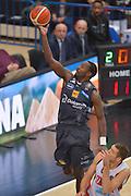 Dustin Hogue<br /> Dolomiti Energia Aquila Basket Trento - Umana Reyer Venezia<br /> Lega Basket Serie A 2016/2017<br /> PalaTrento 05/02/2017<br /> Foto Ciamillo-Castoria