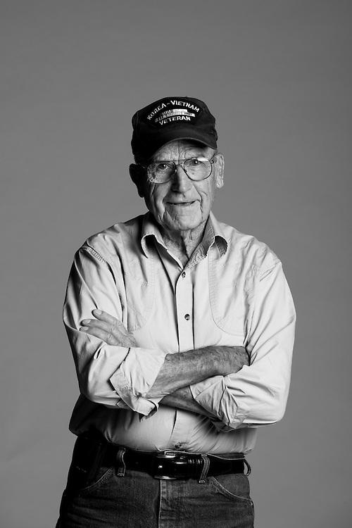 Donald Rupp<br /> Air Force<br /> E-8<br /> Combat Arms<br /> A.C. Mechanic<br /> 1950 - 1976<br /> Korea, Vietnam<br /> <br /> <br /> Veterans Portrait Project<br /> Colorado Springs, CO